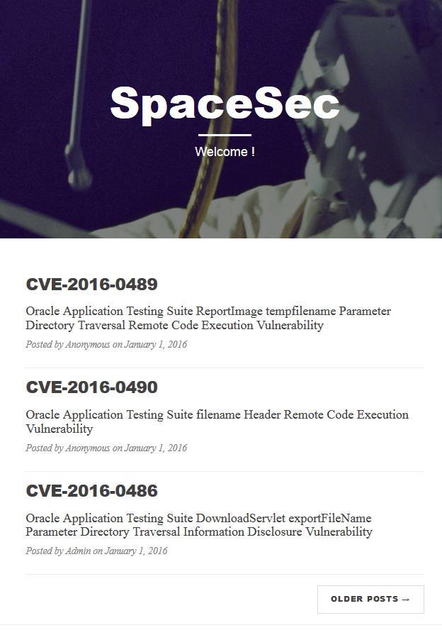 SpaceSec Challenge